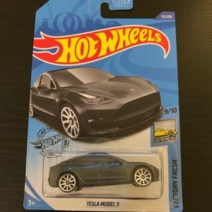 Hot Wheels Tesla Mod 3